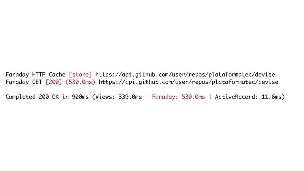 Faraday HTTP Cache [store] https://api.github.c...