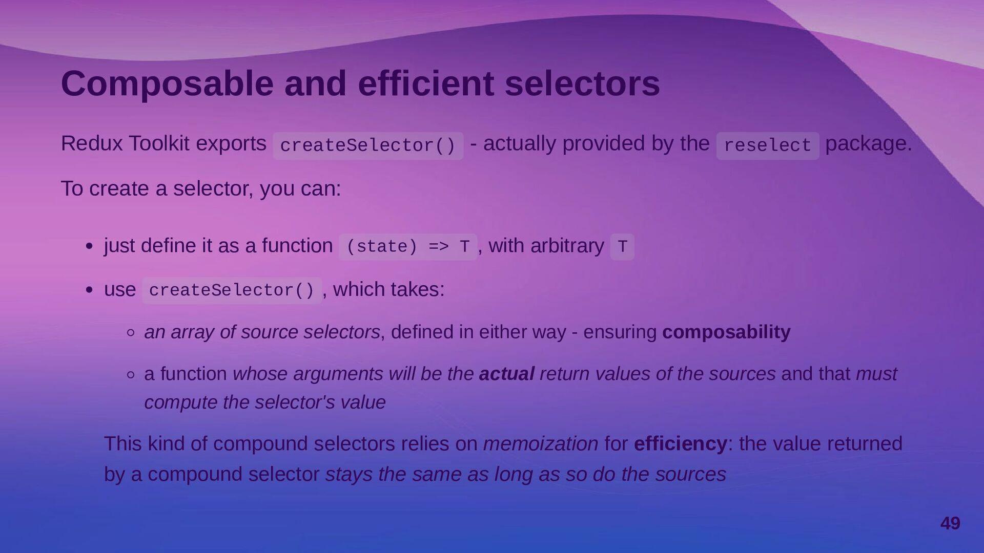Simplified action creators createAction<TPayloa...
