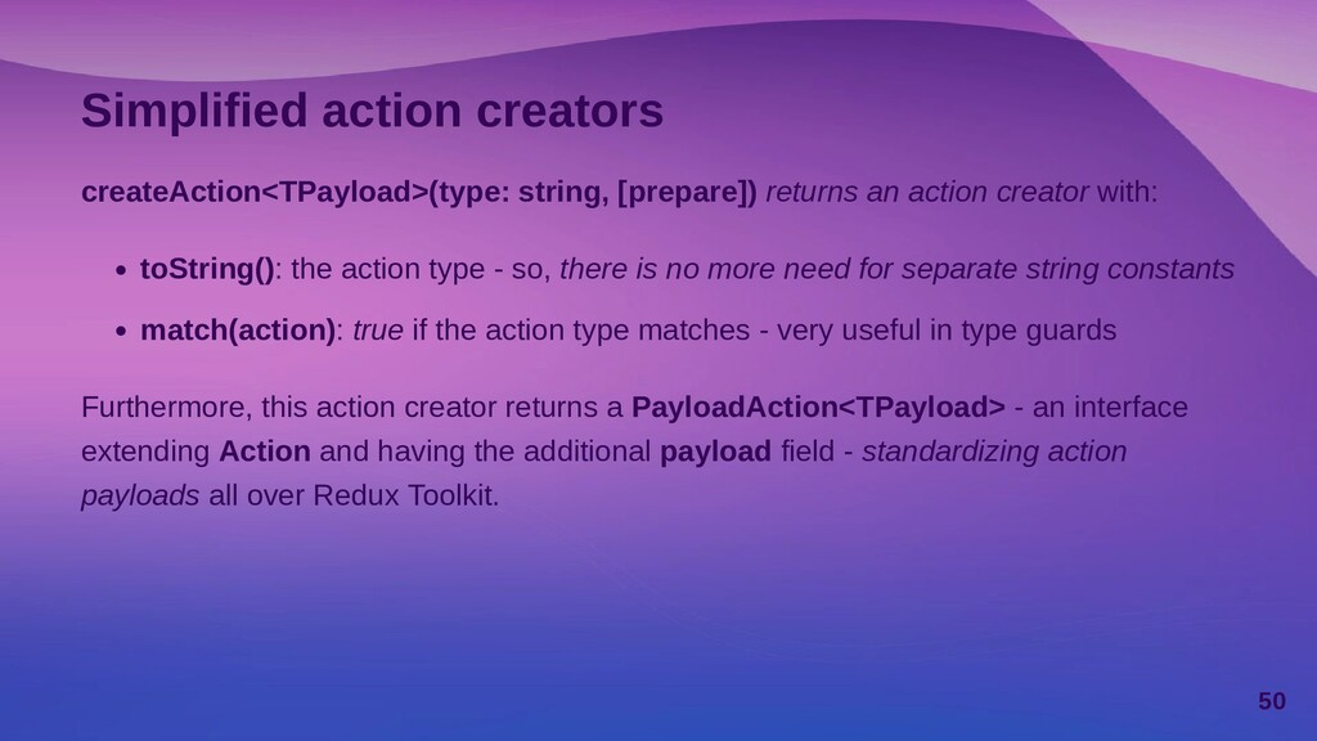 Generating a custom payload The prepare argumen...