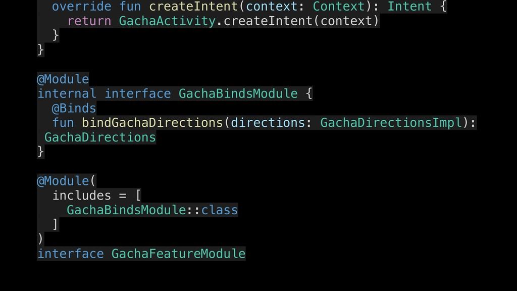 override fun createIntent(context: Context): In...
