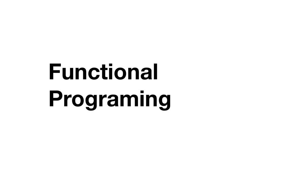 Functional Programing