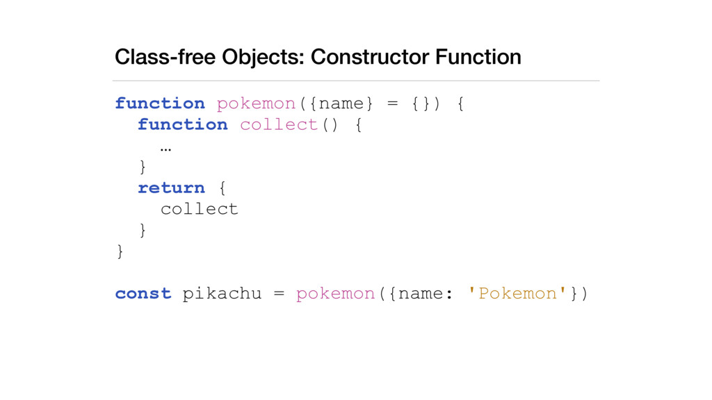 Class-free Objects: Constructor Function functi...