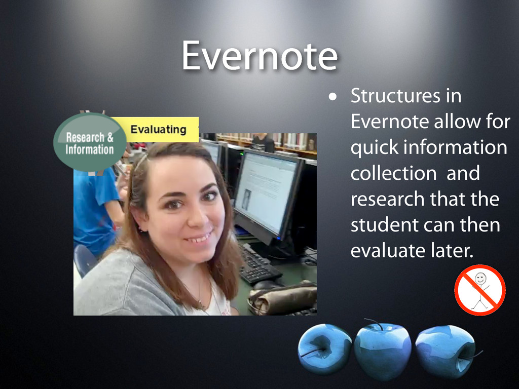 Evernote • Structures in Evernote allow for qui...