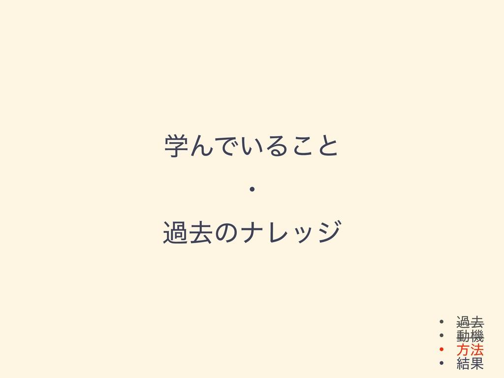 • աڈ • ಈػ • ํ๏ • ݁Ռ ֶΜͰ͍Δ͜ͱ ɾ աڈͷφϨοδ