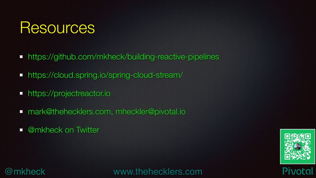 @mkheck www.thehecklers.com Resources https://g...
