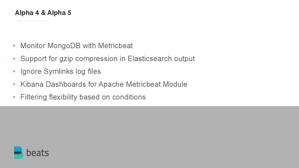 • Monitor MongoDB with Metricbeat • Support for...