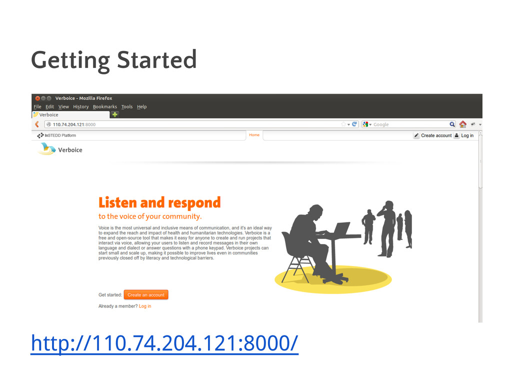 Getting Started http://110.74.204.121:8000/