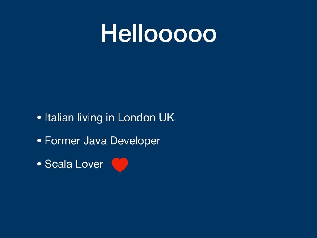 Hellooooo • Italian living in London UK  • Form...
