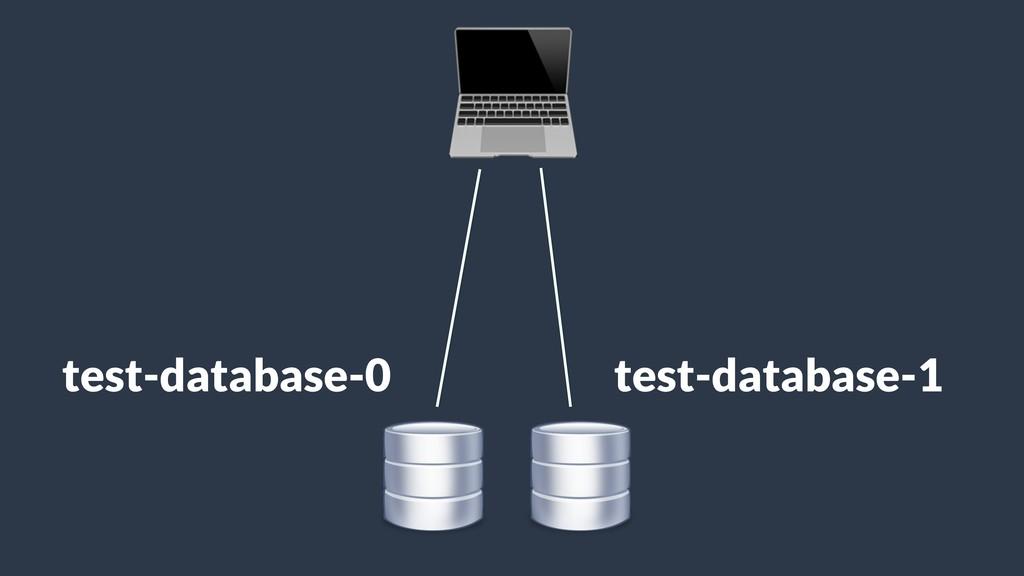 test-database-0 test-database-1