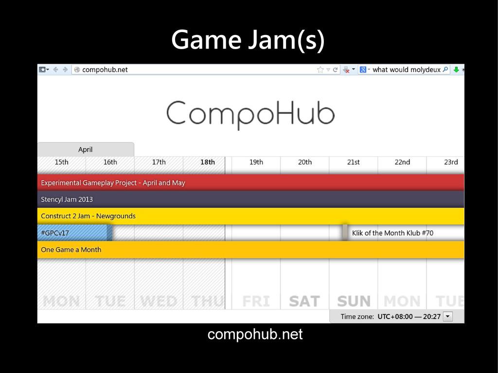Game Jam(s) compohub.net