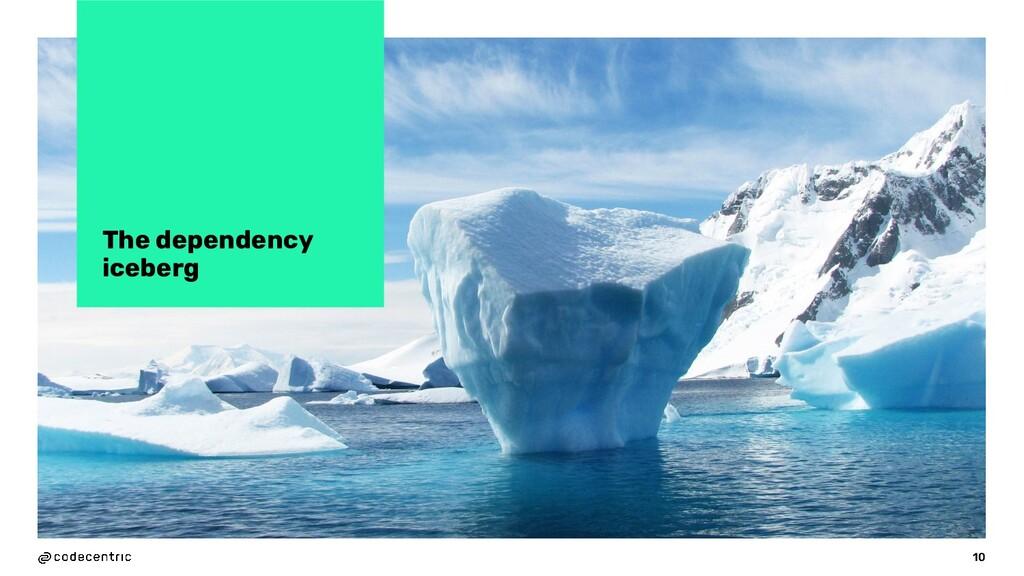 The dependency iceberg 10