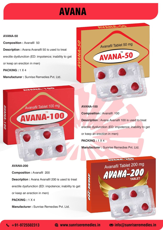 AVANA info@sunriseremedies.in +91-9725502313 ww...