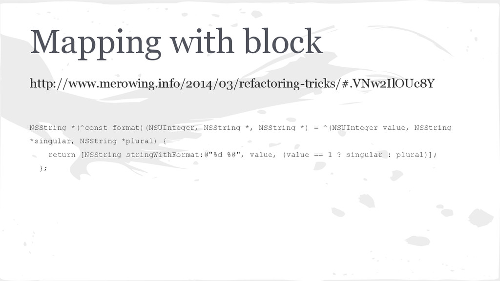 Mapping with block http://www.merowing.info/201...