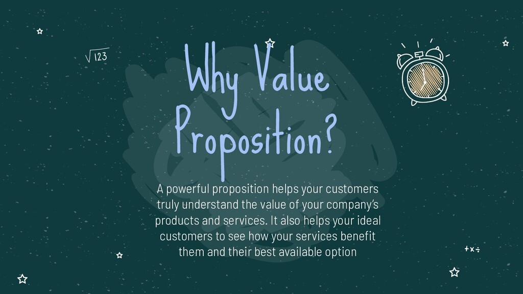 A powerful proposition helps your customers tru...