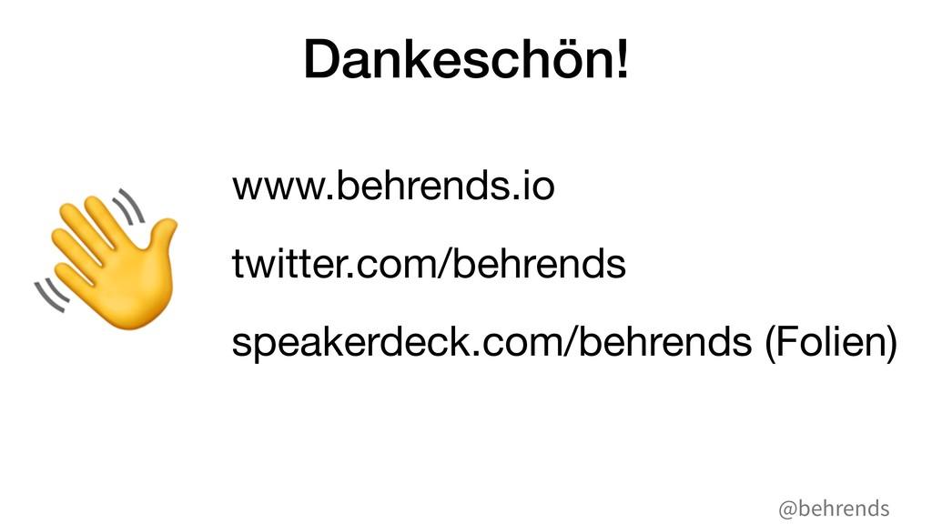 @behrends Dankeschön! www.behrends.io  twitter....