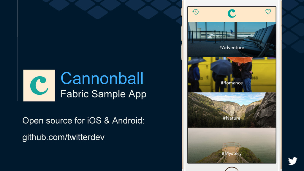 Fabric Sample App Cannonball Open source for iO...