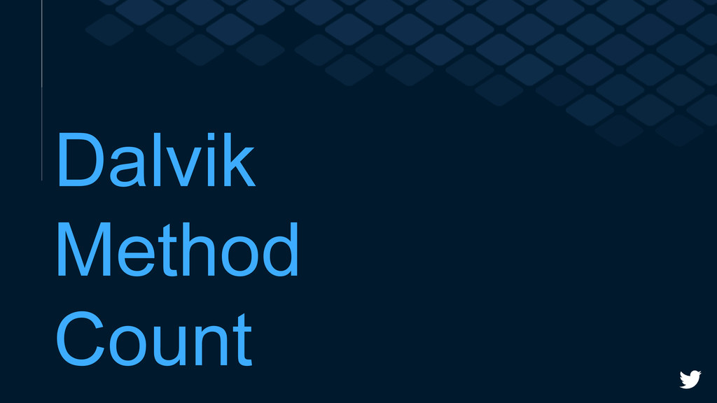 Dalvik Method Count