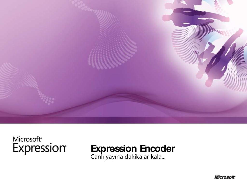Expression Encoder