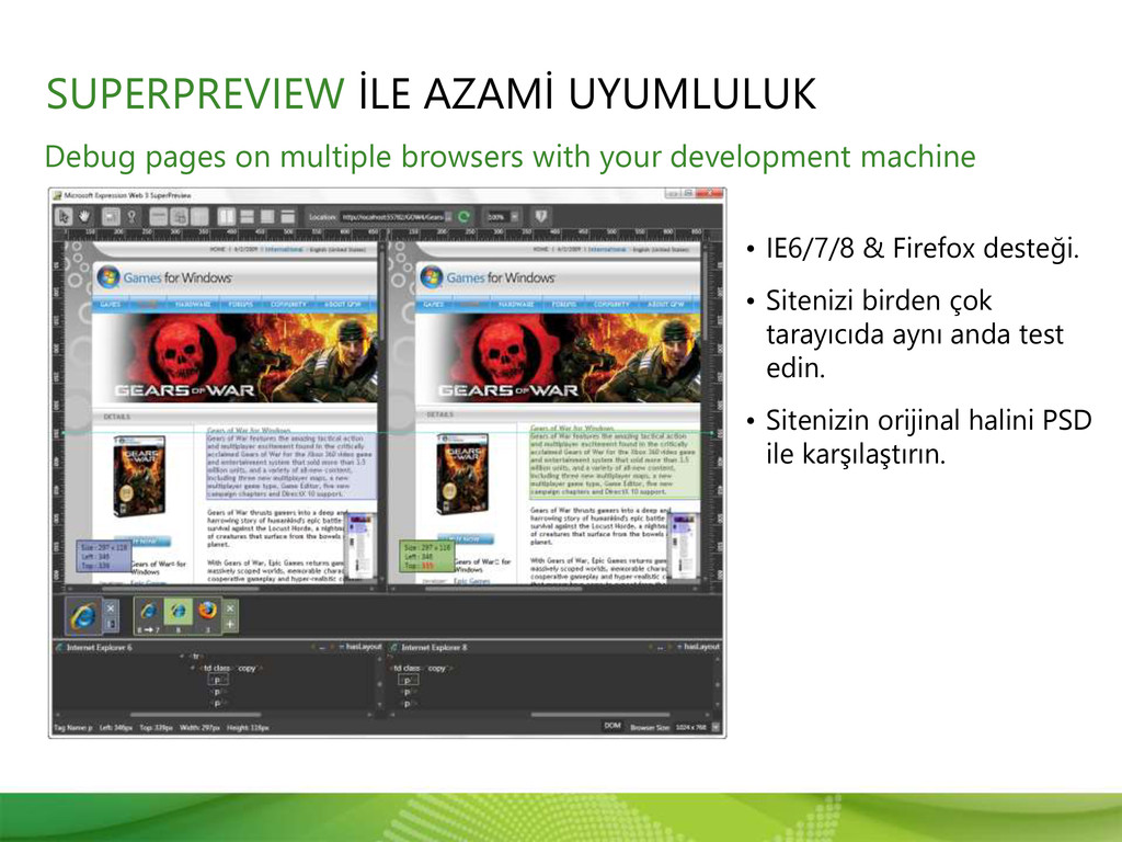 Debug pages on multiple browsers with your deve...