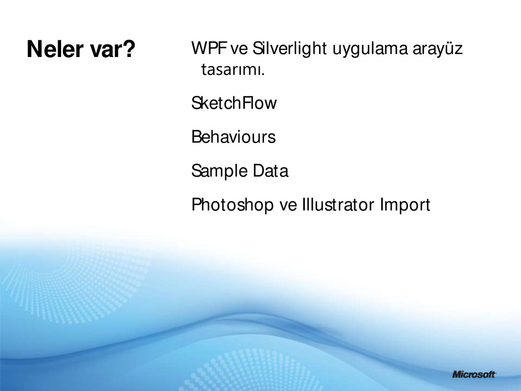 WPF ve Silverlight uygulama arayüz SketchFlow B...