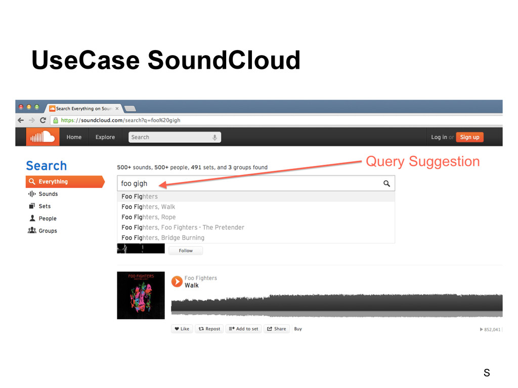 UseCase SoundCloud S