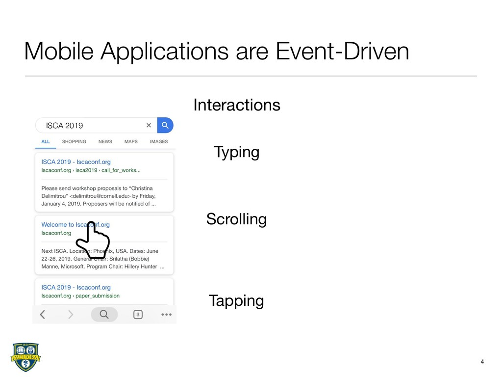 Mobile Applications are Event-Driven 4 Scrollin...