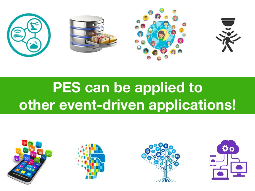PES can be applied to other event-driven applic...
