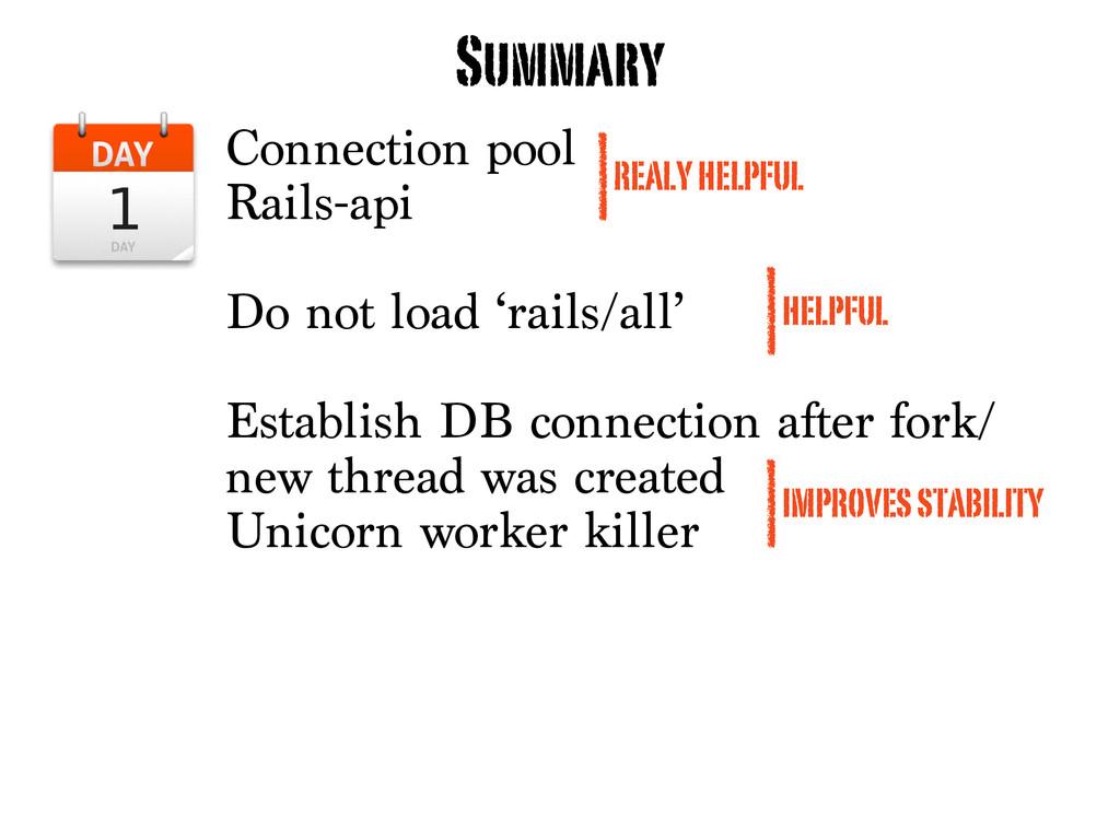 Connection pool Rails-api Do not load 'rails/al...