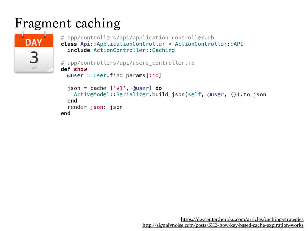 Fragment caching https://devcenter.heroku.com/a...