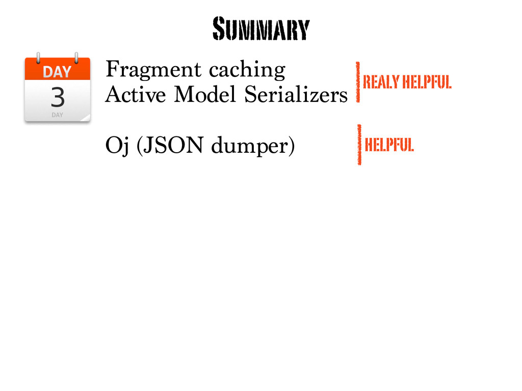 Fragment caching Active Model Serializers Oj (J...