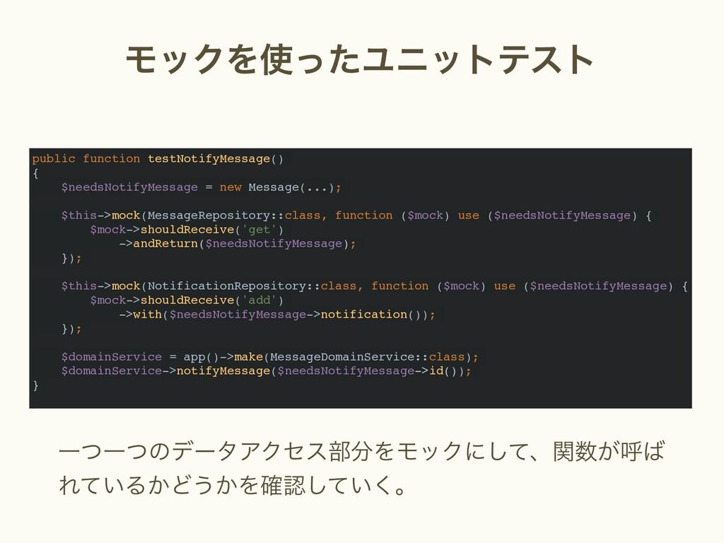 ϞοΫΛͬͨϢχοτςετ public function testNotifyMessag...