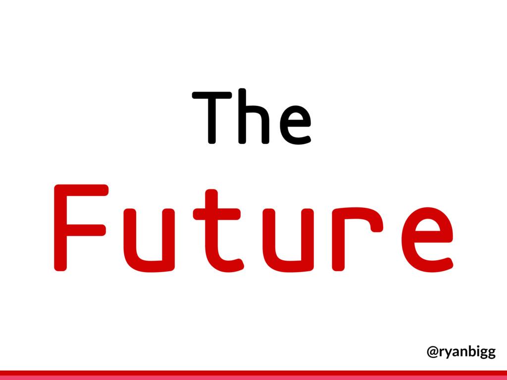The Future @ryanbigg