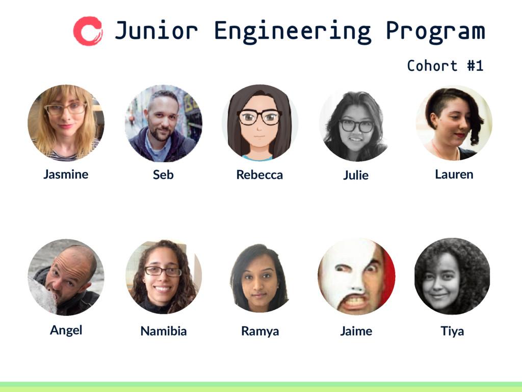 Junior Engineering Program Seb Jasmine Rebecca ...