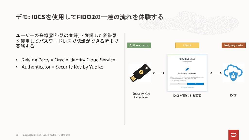 ユーザーの登録(認証器の登録) ~ 登録した認証器 を使用してパスワードレスで認証ができる所ま...