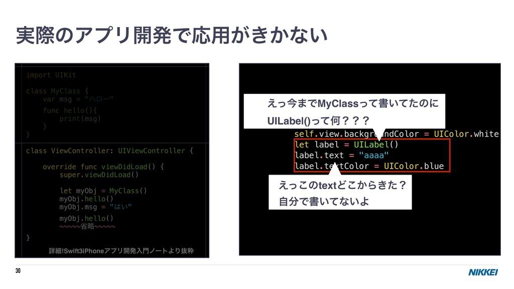 "30 import UIKit class MyClass { var msg = ""ϋϩʔ""..."