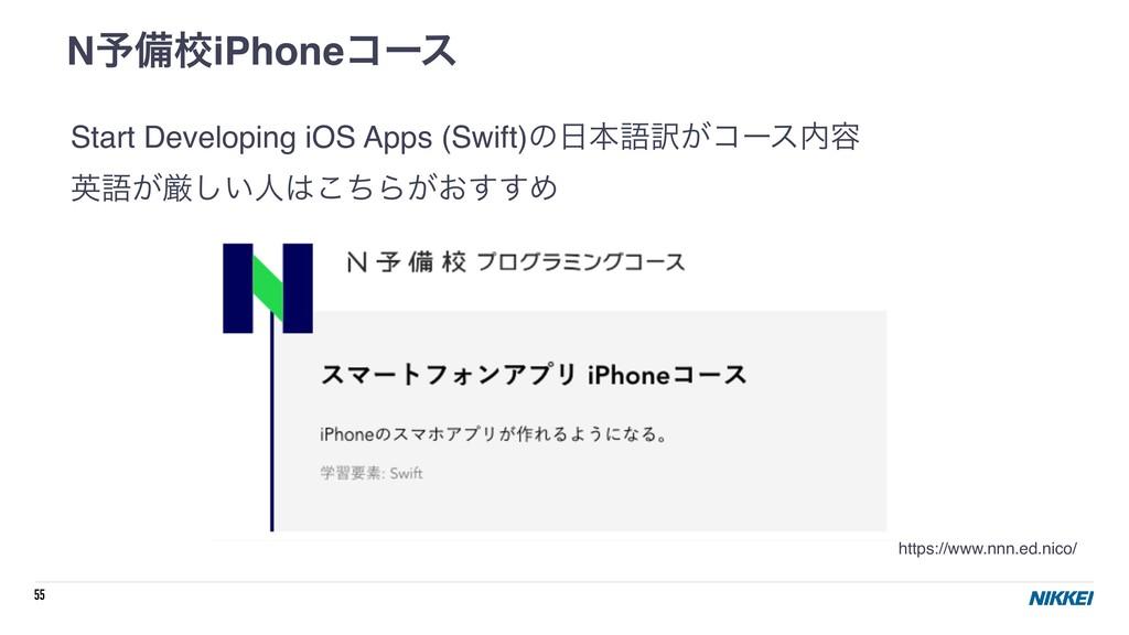 55 Start Developing iOS Apps (Swift)ͷຊޠ༁͕ίʔε༰...