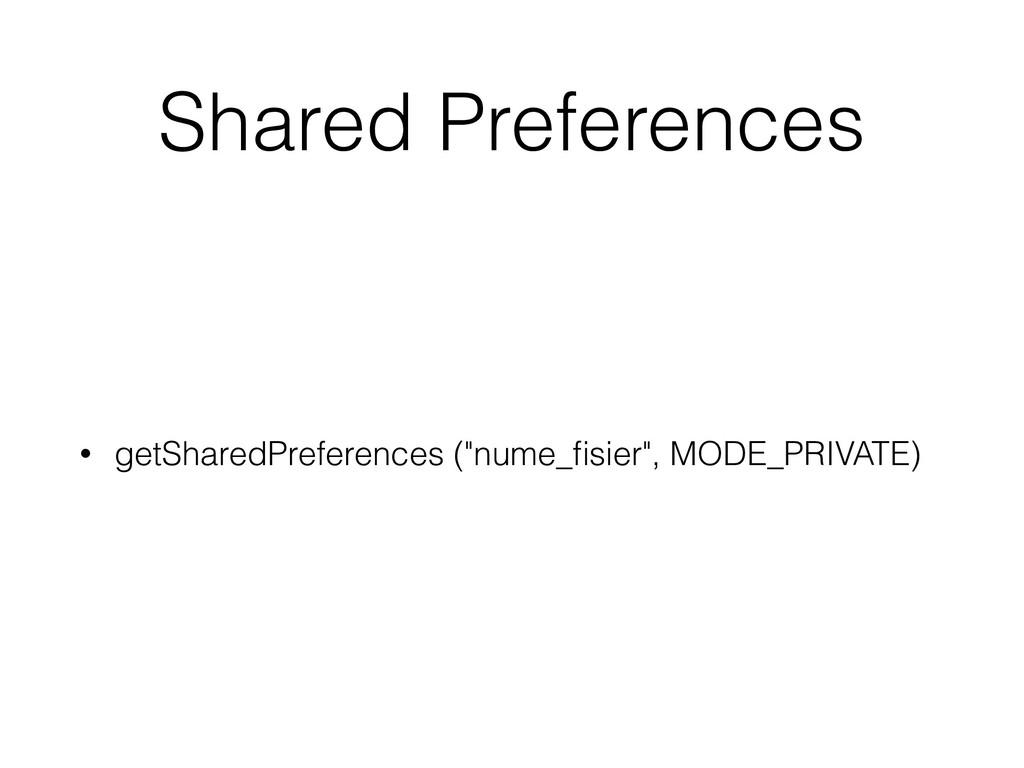 """Shared Preferences • getSharedPreferences (""""num..."""