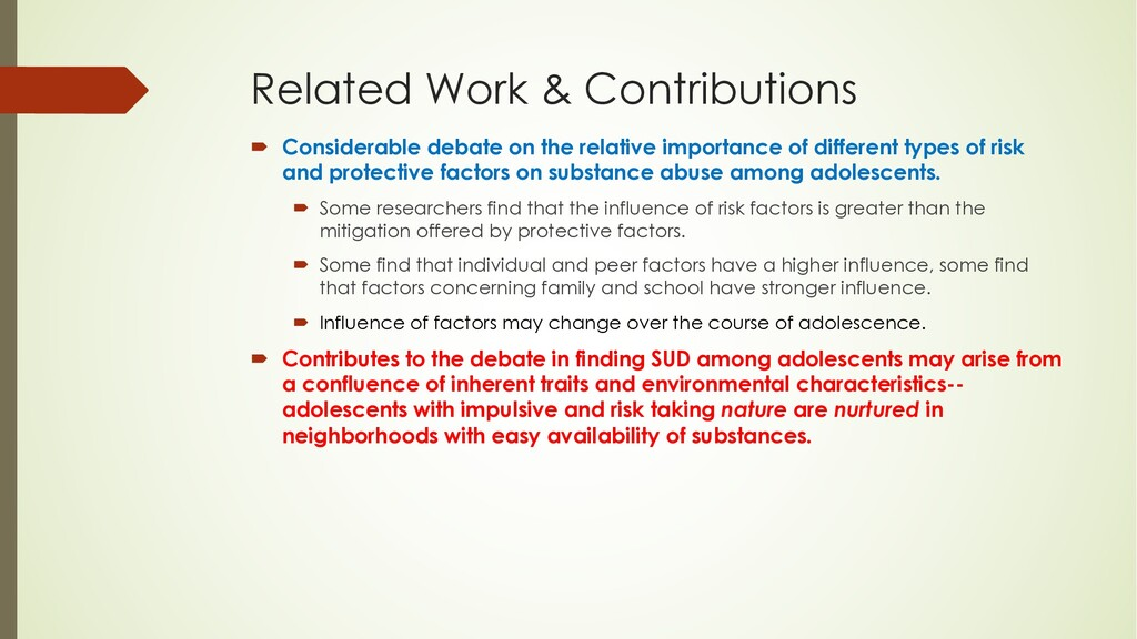 Related Work & Contributions ´ Considerable deb...