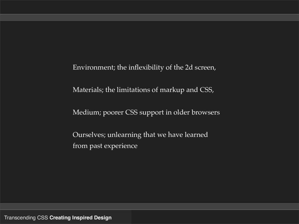 Transcending CSS Creating Inspired Design Envir...