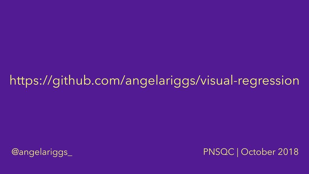 https://github.com/angelariggs/visual-regressio...