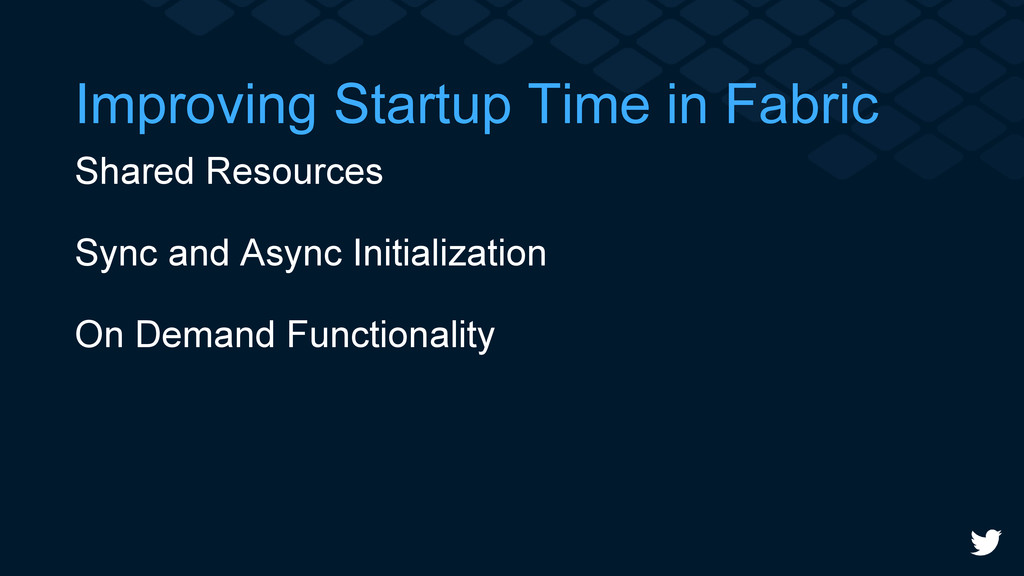 Improving Startup Time in Fabric Shared Resourc...