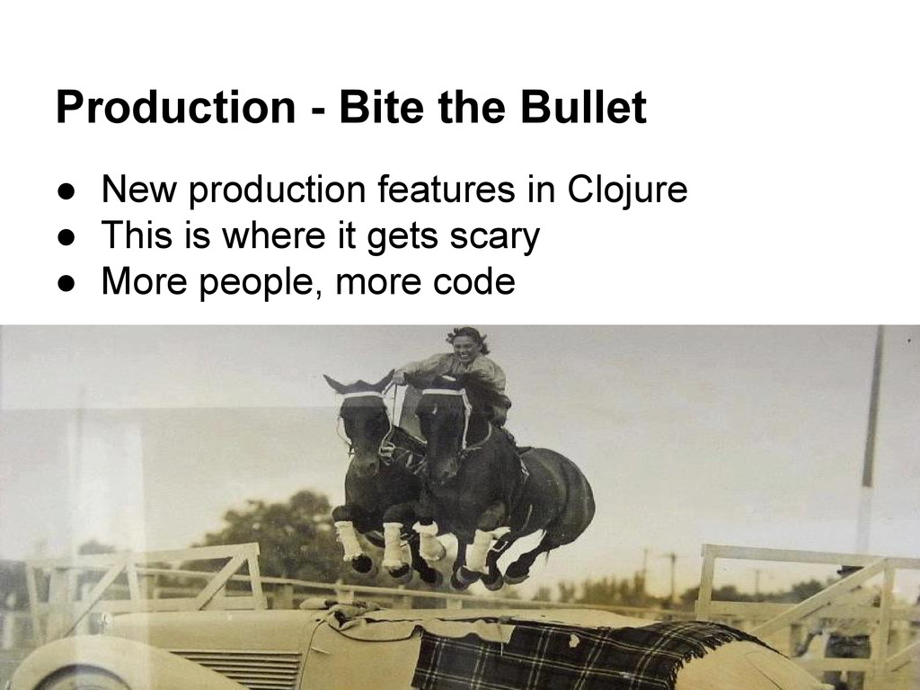Production - Bite the Bullet ● New production f...