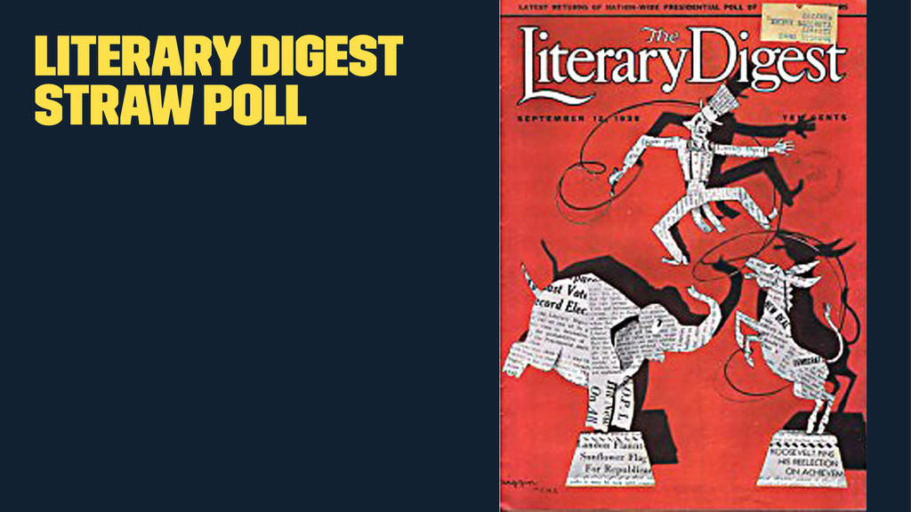 Literary Digest Straw Poll