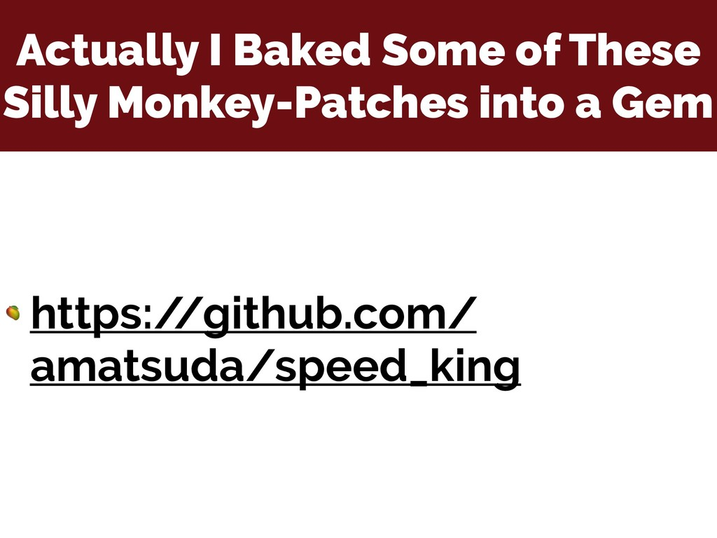 Actually I Baked Some of These Silly Monkey-Pat...
