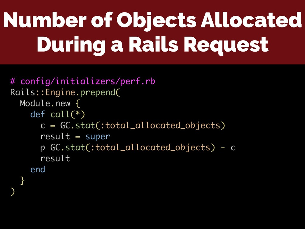 Number of Objects Allocated During a Rails Requ...
