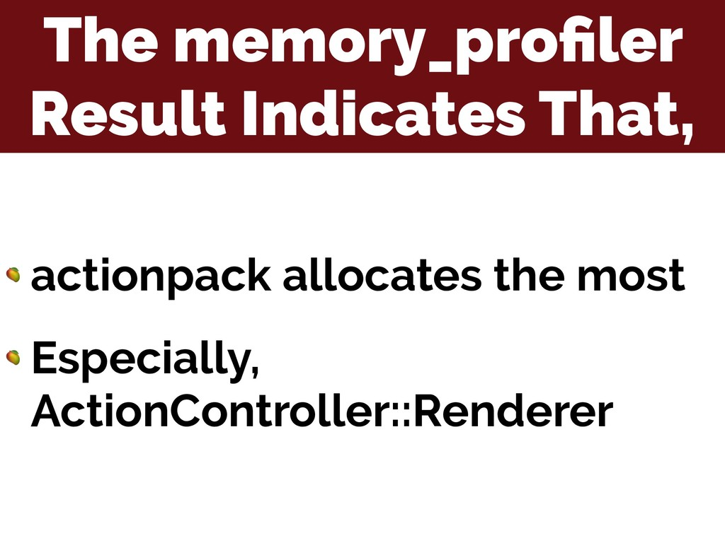 The memory_profiler Result Indicates That,  acti...