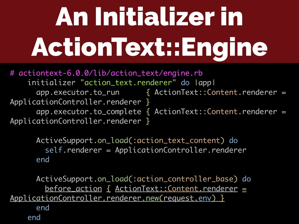 An Initializer in ActionText::Engine # actionte...