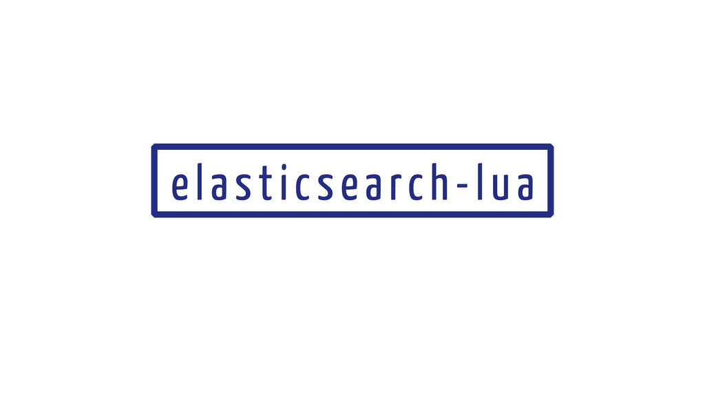 elasticsearch-lua