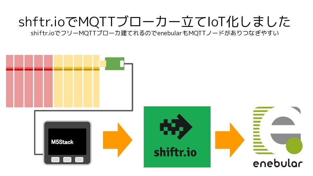 shftr.ioでMQTTブローカー立てIoT化しました shiftr.ioでフリーMQTTブ...