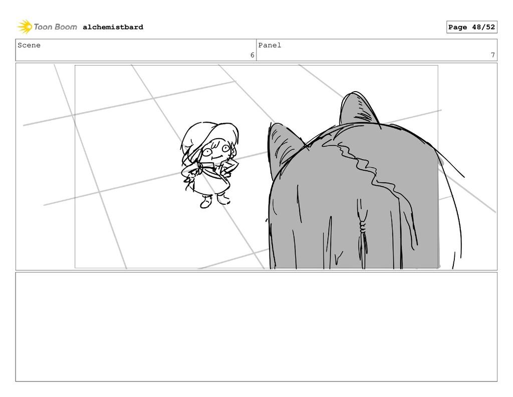 Scene 6 Panel 7 alchemistbard Page 48/52